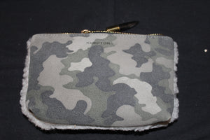 Marlborough Shearling Cosmetic Case