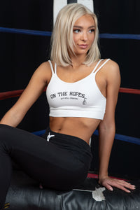 Modal French Terry ON THE ROPES Bra Top