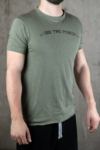 Cotton Slub 1-2 Punch Short Sleeve Tee