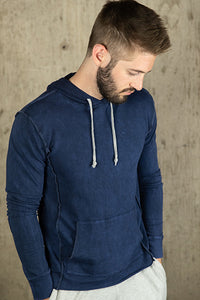 French Terry Vintage Wash Hooded Sweatshirt