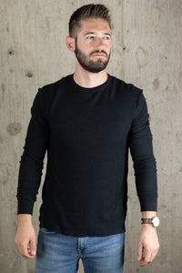 LONG SLEEVE REVERSE SEAM TEE