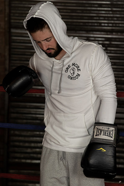 French Terry ONE MORE ROUND Boxing Hoodie