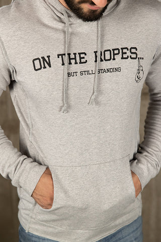 French Terry ON THE ROPES Boxing Hoodie
