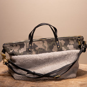 Shearling Devon Holdall Purse