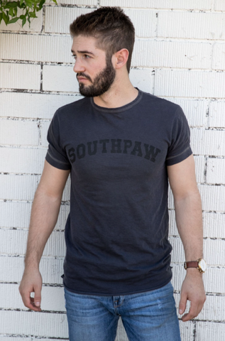 Cotton Slub Short Sleeve Tee-SOUTHPAW