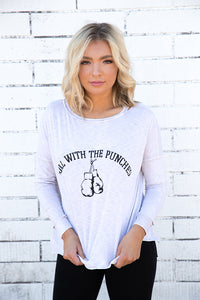 Roll with the Punches Boxing Tee