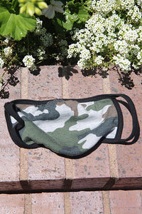 Camo French Terry Mask