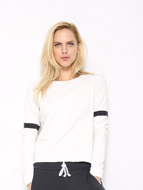 Tencel Fleece Varsity Sweatshirt