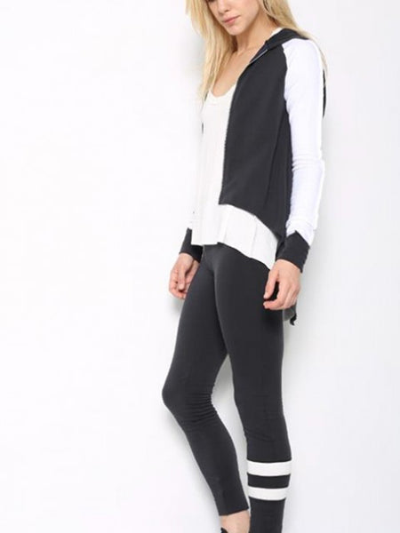 Tencel Fleece Terry Varsity Legging