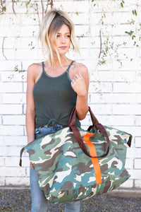 Camo Weekender by TOTem Salvaged