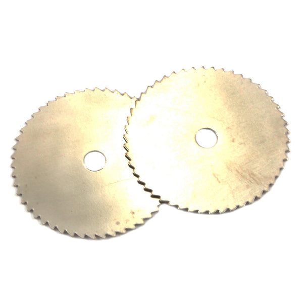 "FORNEY 60230 2 PC 5/8"" Mini Saw Blade Replacement Set Soft Wood/Plastic 30000RPM"