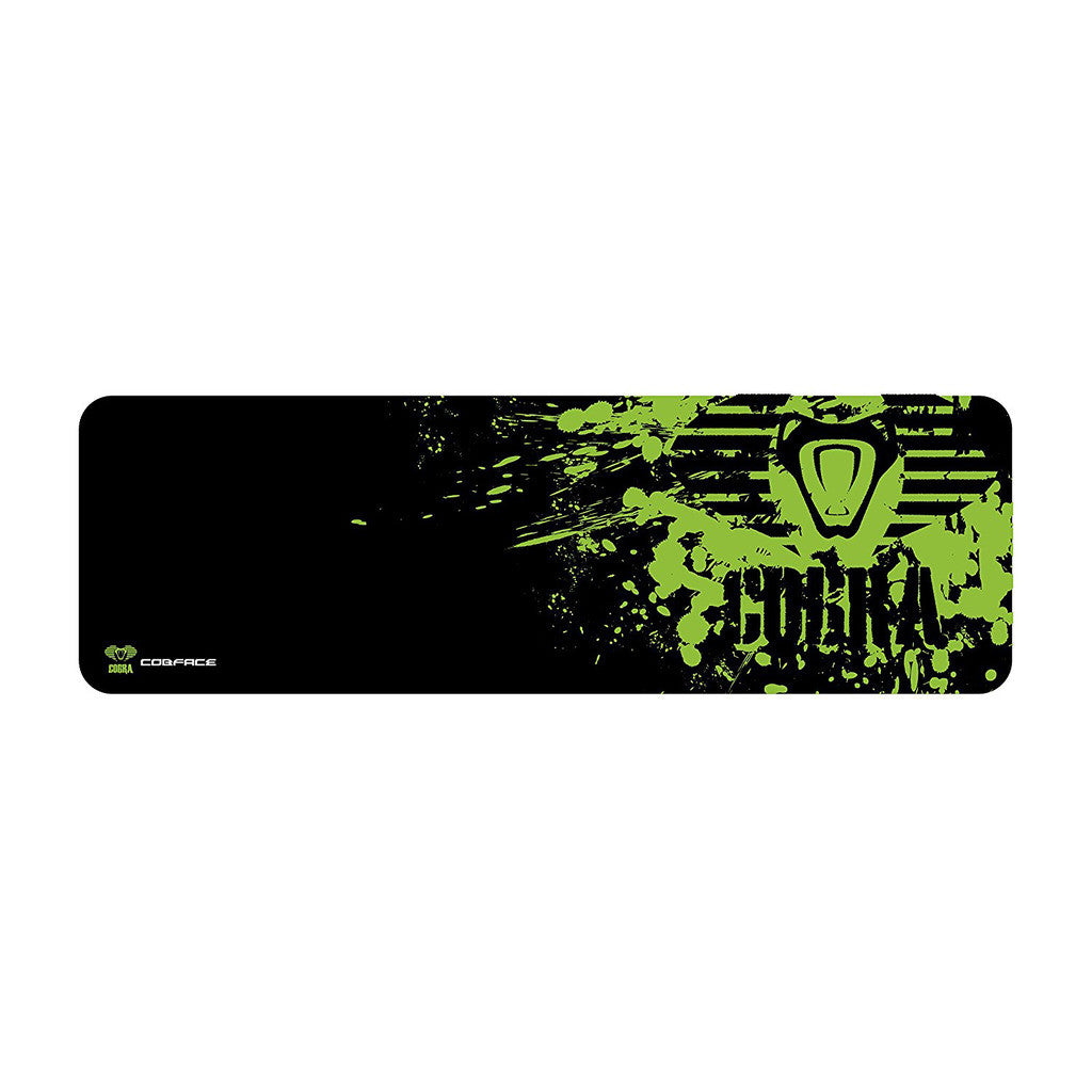 E-BLUE EMP005-XL Cobra Series Unique Design Mouse Pad Extra Large Black/Green