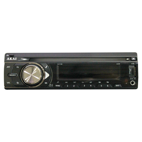 AKAI AK-C1388 2 Channel CD/USB/SD MP3 WMA Player AM/FM Car Radio USB 4 x 50W 12V