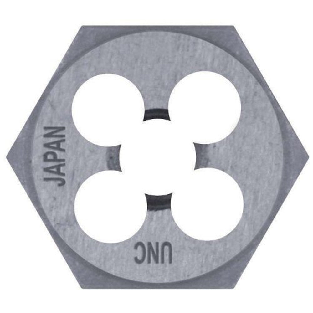"CENTURY TOOL 97614 High Carbon Steel/HCS 10.0 x1.25 Metric Hexagon Die 1"" Across"