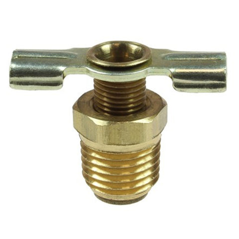 "COILHOSE PNEUMATICS ID02DL Air Compressor 1/8"" MPT Drain Cock Brass Pipe Fitting"
