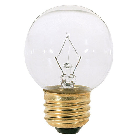 "SATCO S3839 40G161/2 Decorative E26 Brass 370 Lumen 2.06"" x3-1/4"" Light Bulb 40W"