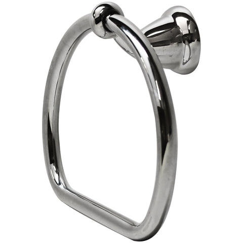 "DELTA 78046 Coordinates Michael Graves Collection Bath 8.5"" Towel Ring Chrome"