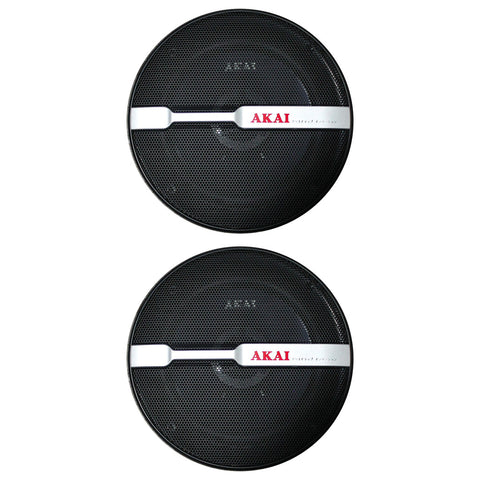 "AKAI AK-SP-638 Audiophile Cone 6.5"" 2-Way Coaxial Speaker 40W Rated/240W Peak"