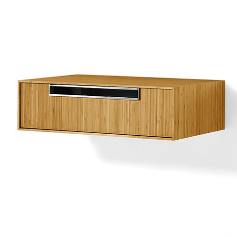 "LINEABETA 81167.03 27.5"" x 18.11"" x 7.9"" Washbasin Cabinet Drawer Natural Bamboo"