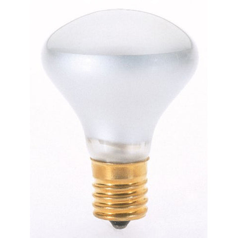 "SATCO S4700 25R14N Reflector E17 Brass 135 Lumens 1.75"" x 2-5/8"" Light Bulb 25W"