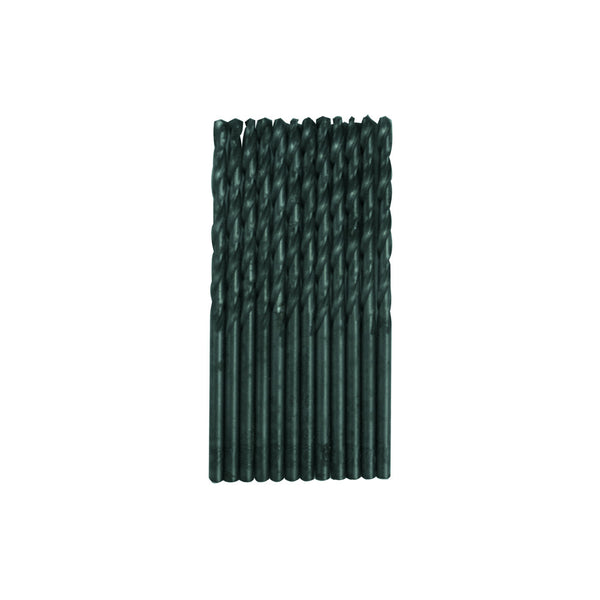 "CENTURY TOOL 24107 Black Oxide HSS General Purpose 7/64"" x 2-5/8"" Drill Bit 12PK"