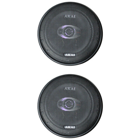 "AKAI AK-SP-600 Audiophile Cone 6.5"" 2-Way Coaxial Speaker 20W Rated/180W Peak"