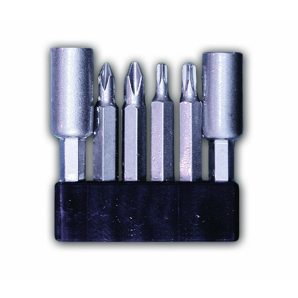 CENTURY TOOL 68905 6 Piece S2 Steel Mixed/Assorted Screwdriver Power Bit Set