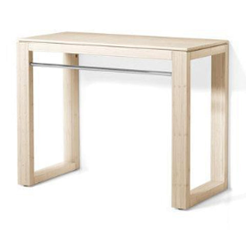 "LINEABETA 81110.09 39.4 x 30"" x 18.11"" Solid Wood Wash Table Unit White Bamboo"