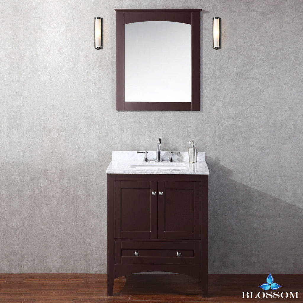 "BLOSSOM 003-36-02 Dubai 36"" Vanity Set with Mirror Espresso"
