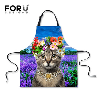 Super Cute Cat Aprons - Black Paw Store
