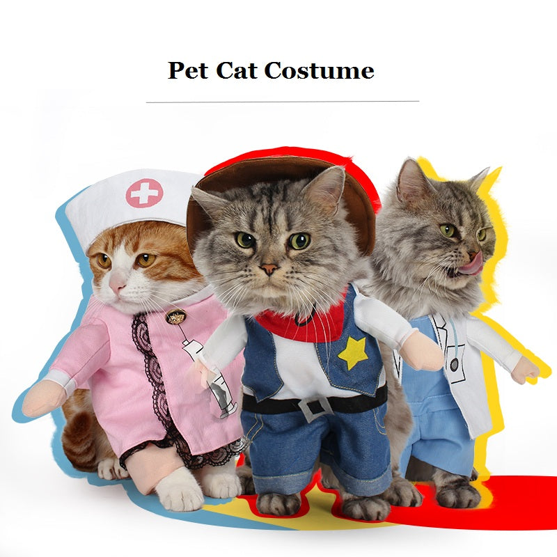 Funny Cat Costumes - Black Paw Store