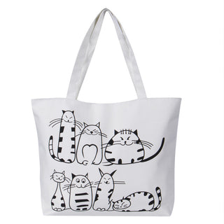 Women's Canvas Handbag - Black Paw Store