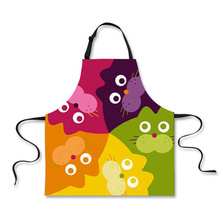 Cute Cat Apron - Black Paw Store