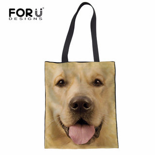 Canvas Folding Tote Bag - Black Paw Store