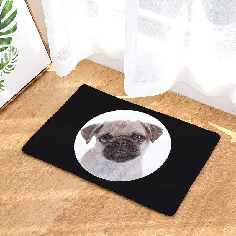 Dog Printed Mat 50x80cm - Black Paw Store