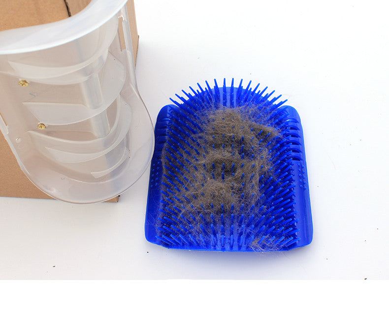 Self Grooming Cat Brush & Scratcher - Black Paw Store