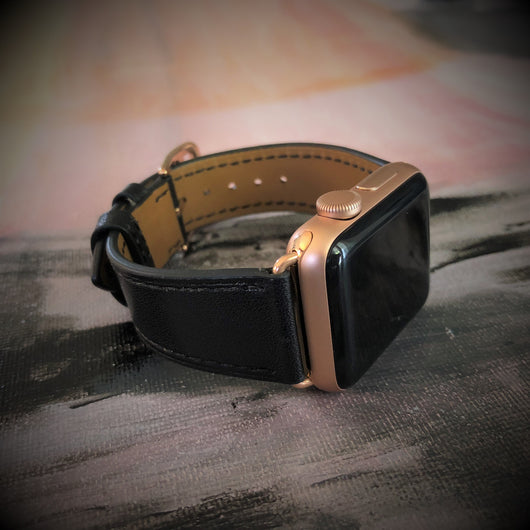 Black Apple Watch Band