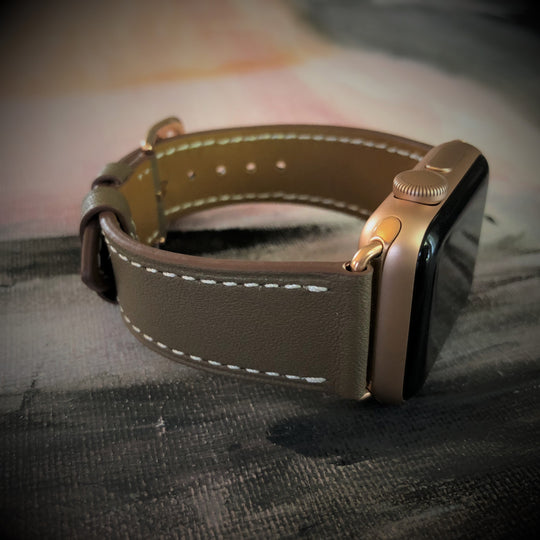 Hazel Brown Apple Watch Band