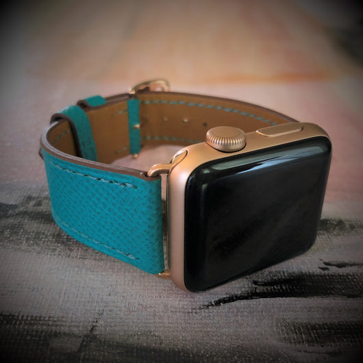 Textured Sea Green Apple Watch Band