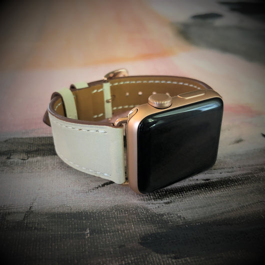 Ivory Apple Watch Band