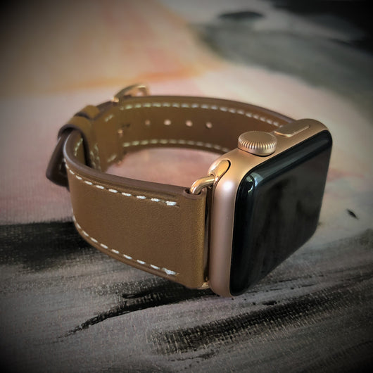 Caramel Brown Apple Watch Band
