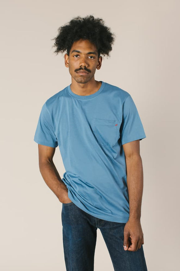 Kanso Pima Cotton Pocket Tee