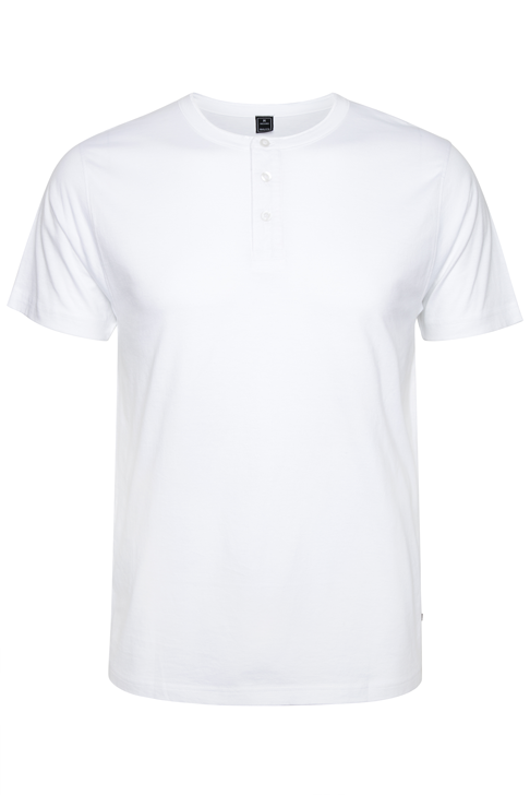 Kanso Pima Cotton Henley
