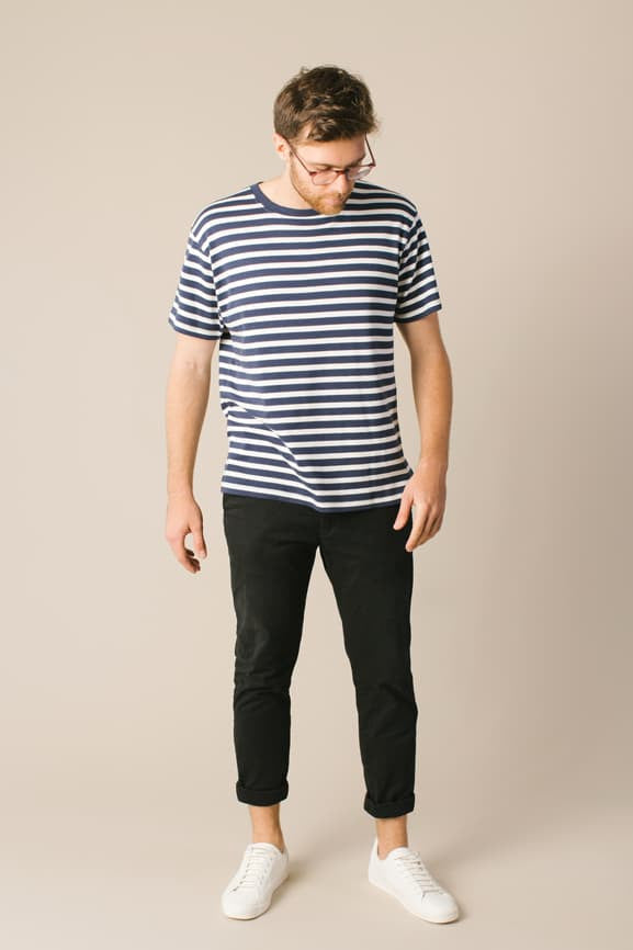 Hide Stripe Tee - Third Uprising