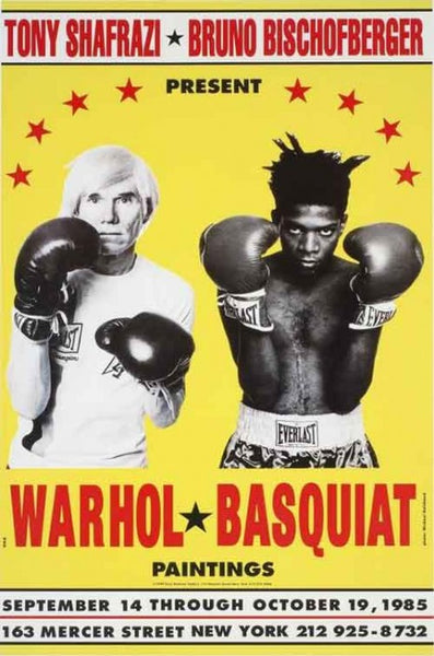 Andy Warhol - Jean-Michel Basquiat - Interview Magazine - If Soho New York
