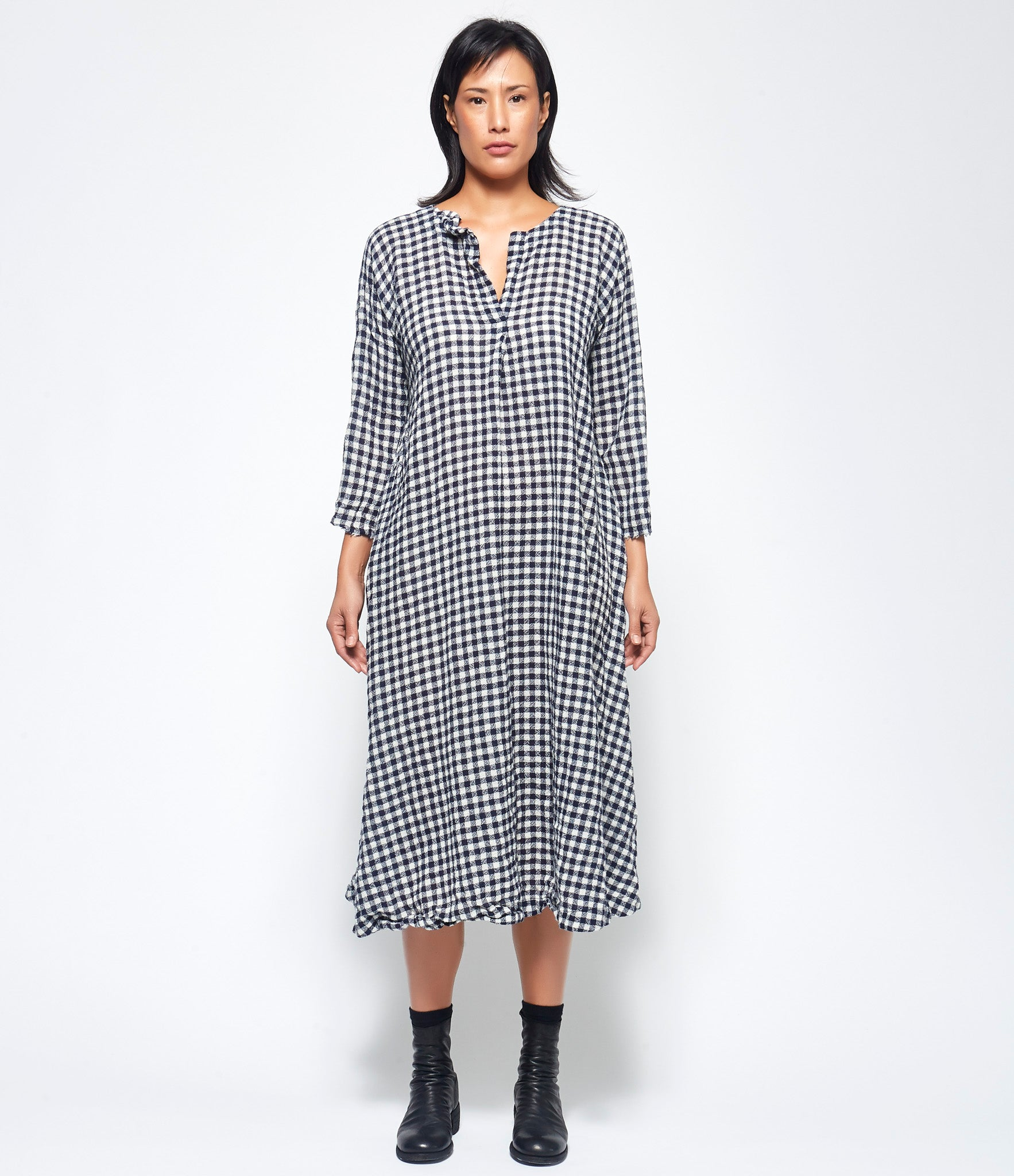 Daniela Gregis Spicchi Collo Teresa Washed Dress