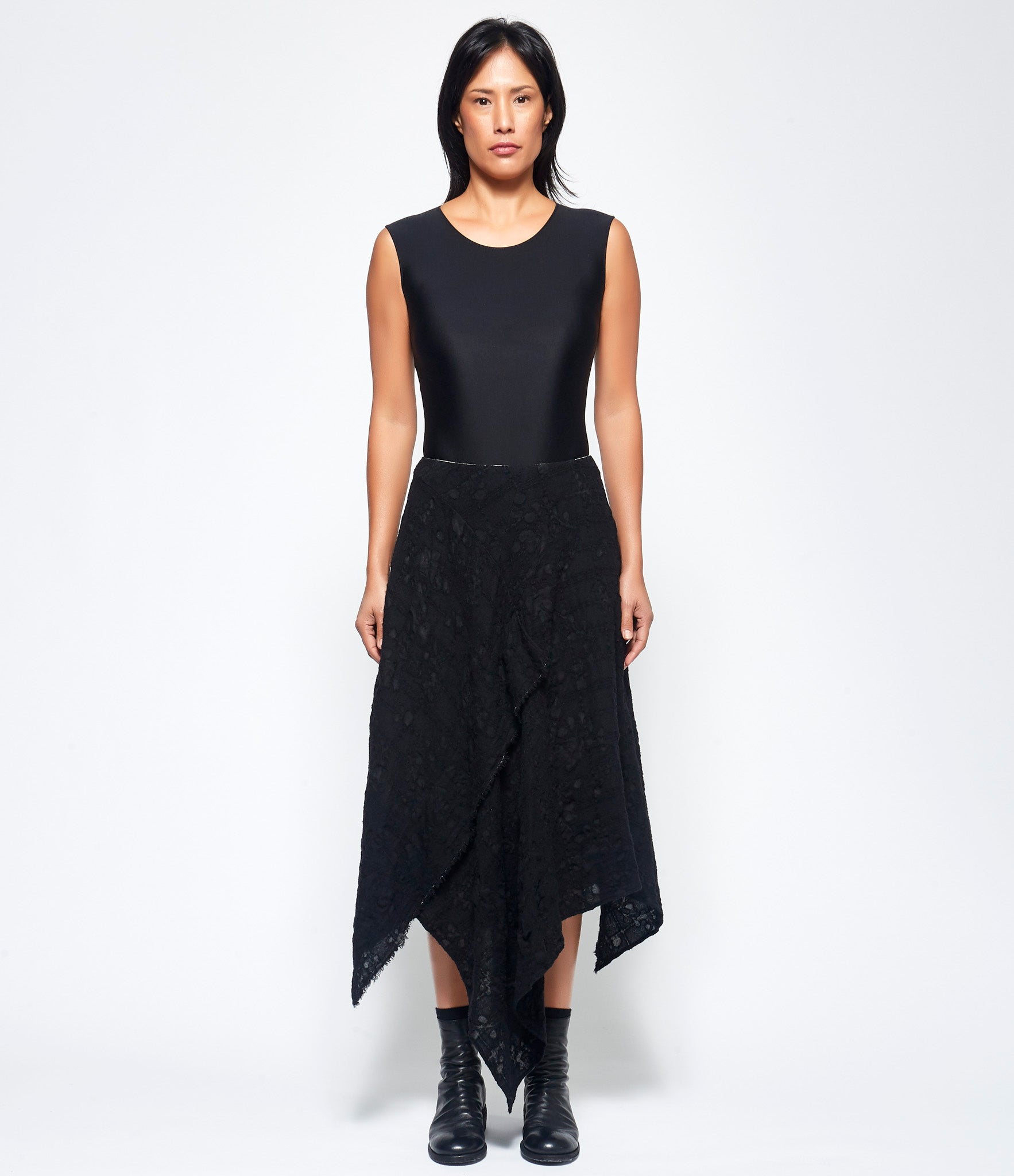 Forme d'Expression Lined A' Midi Skirt
