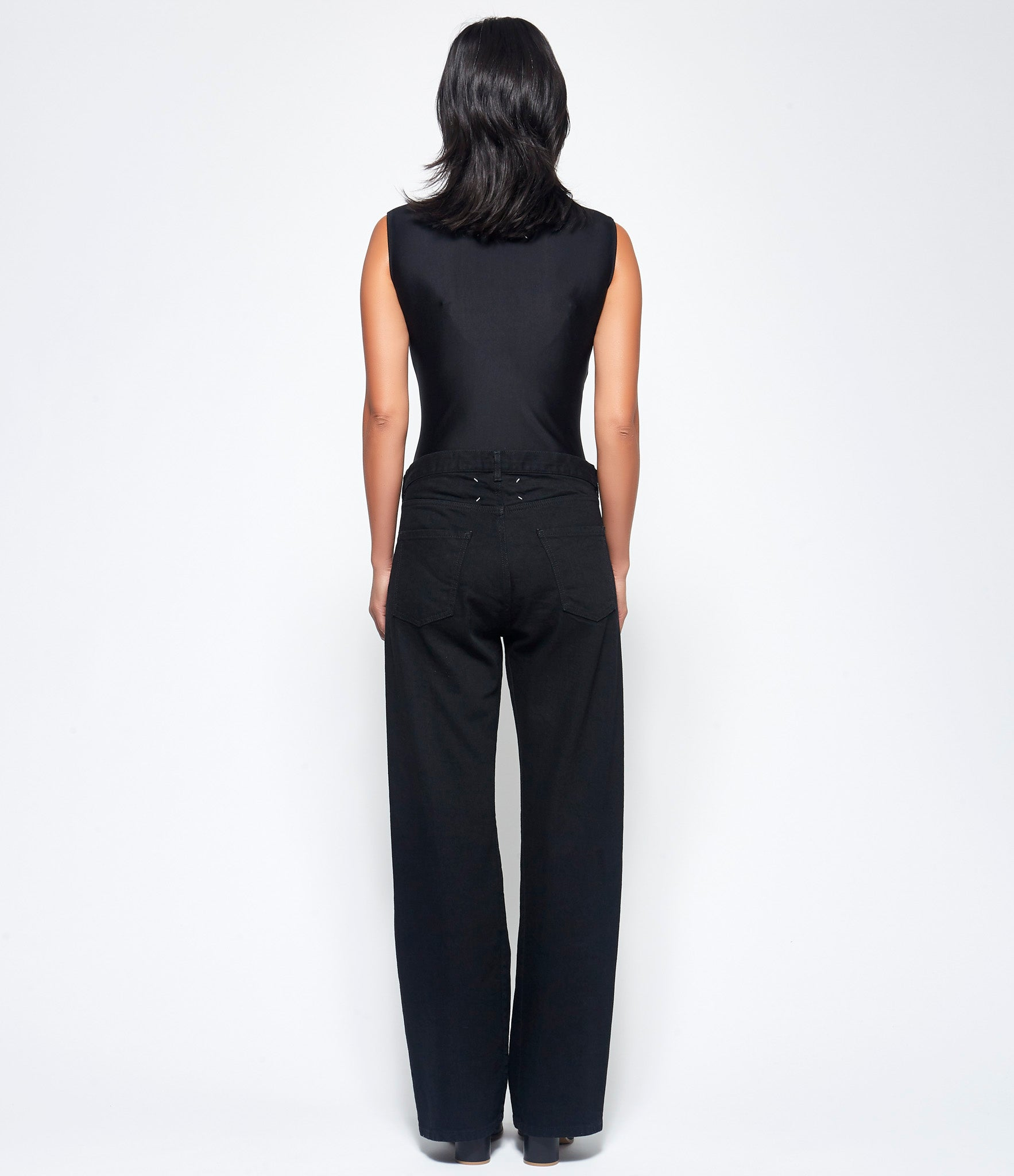 Maison Margiela Black Denim Pants