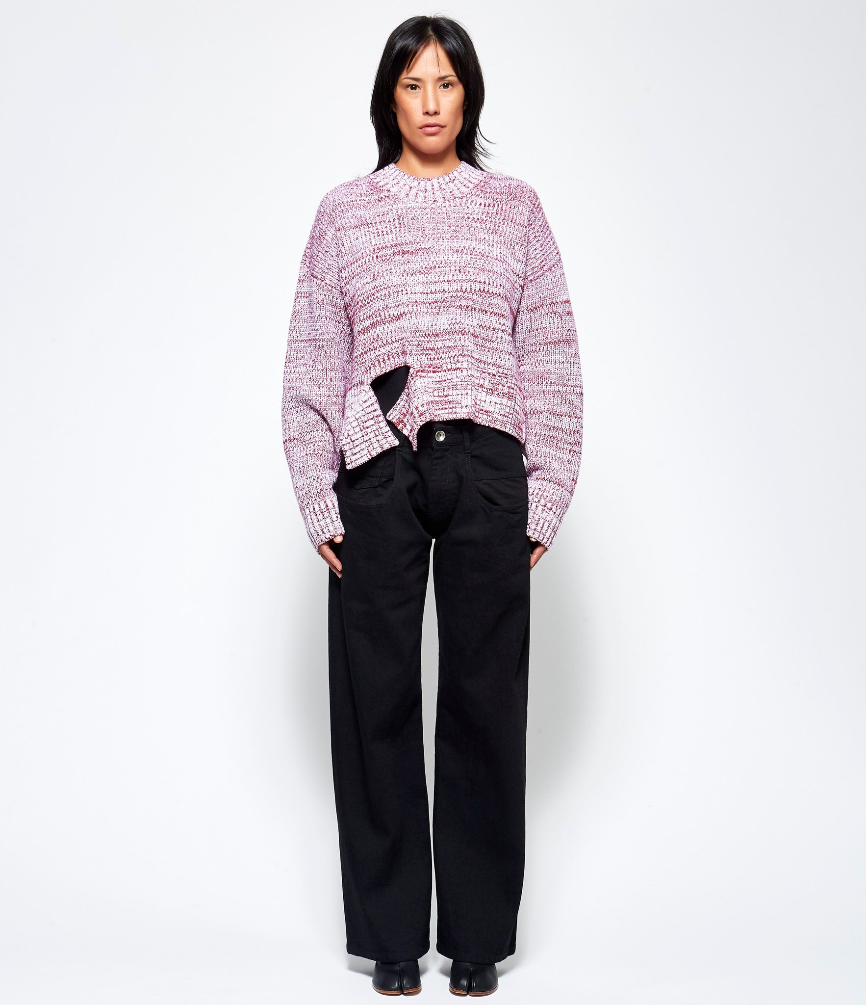 Maison Margiela Mouline Ribbed Sweater