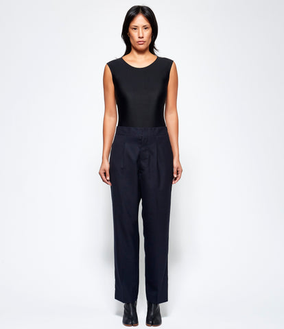 Maison Margiela Runway Wool Poly Twill Trousers